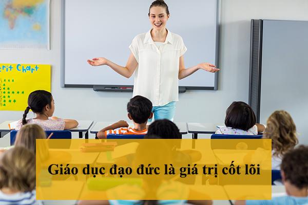 Giáo dục đạo đức là giá trị cốt lõi mà gia sư quận Hoàng Mai muốn hướng tới