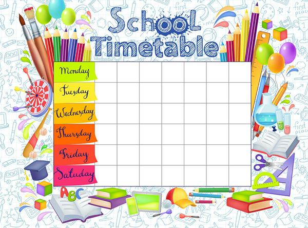 Học sinh lớp 9 cần xây dựng một thời gian biểu khoa học.